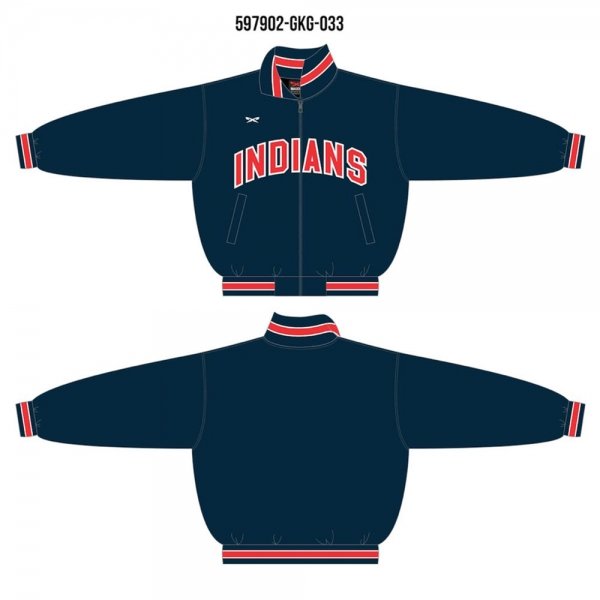 Full zip-up baseball jacket